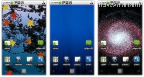 Tri odlična aktivna ozadja za Android telefone