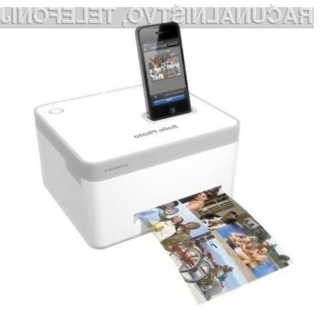 Kompaktni foto tiskalnik BP-10 je oblikovan posebej za iPhone.