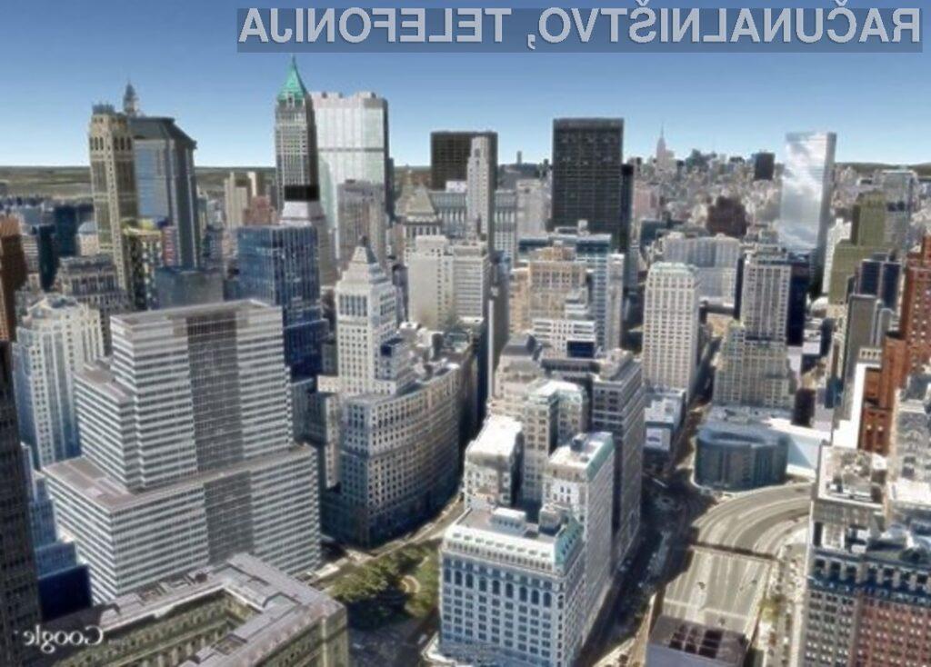 Satelitski kartografski sistem Google Earth in storitev Street View sta postala eno.
