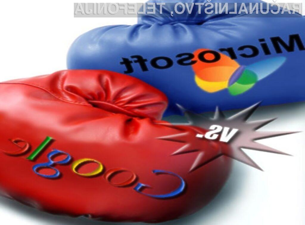 Bo Google zaradi domnevne kršitve protimonopolne zakonodaje vložilo tožbo še zoper Microsot?