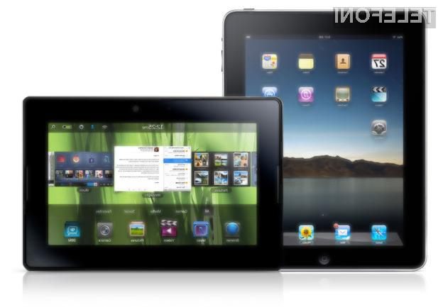 RIM BlackBerry PlayBook ali Apple iPad - kateri je boljši?