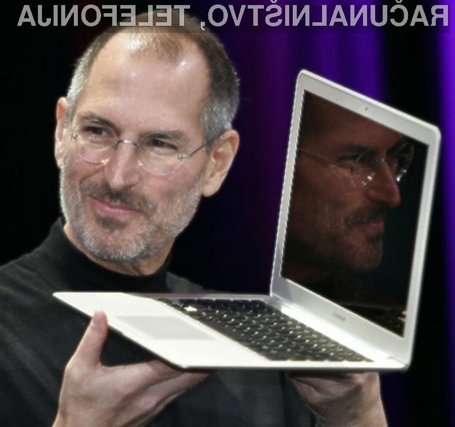 Prenosni računalniki podjetja Apple niso primerni za poganjanje aplikacij Flash.