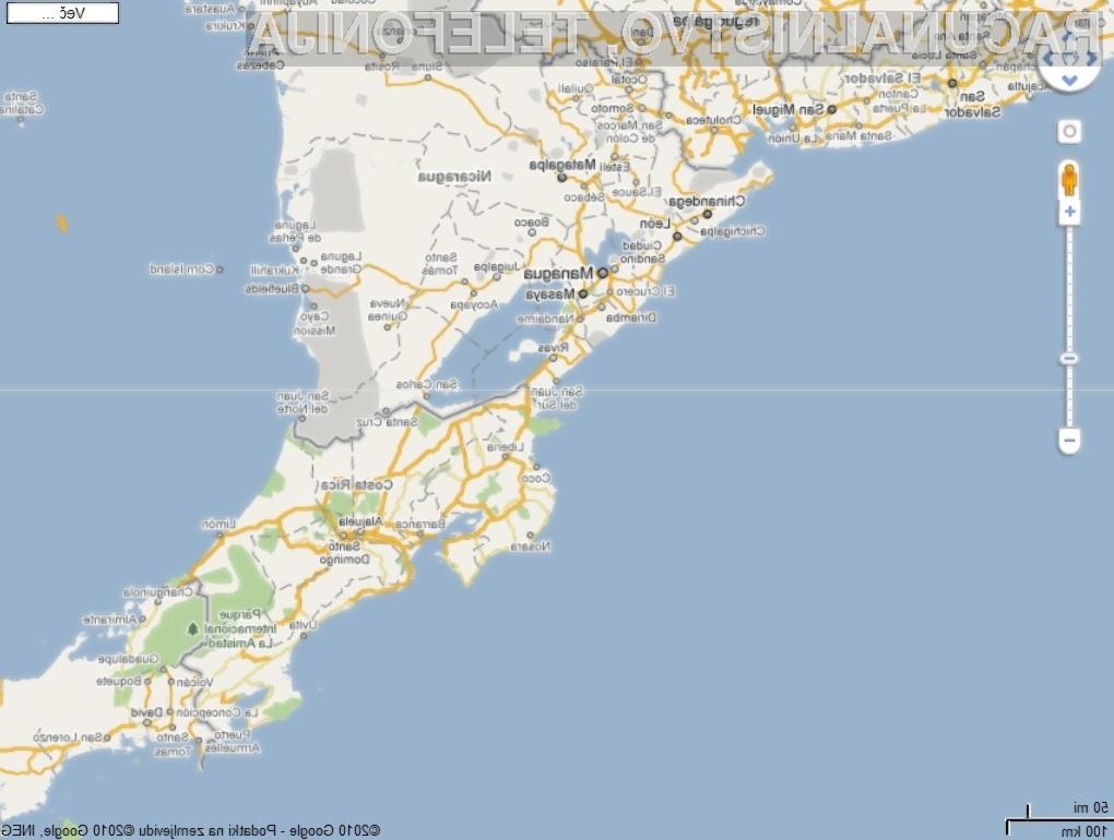 Napaka na Google Mapsu  je ponovno razvnela strasti med vojaškimi silami Nikaragve in Kostarike.