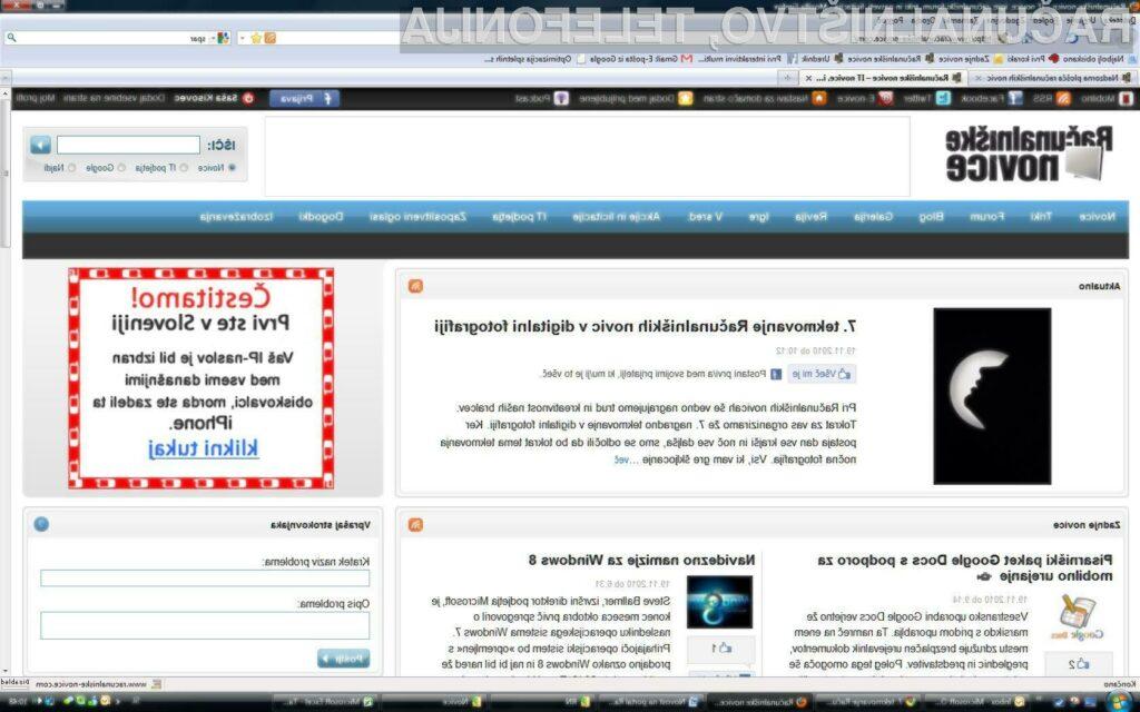 Nova pasica na portalu RN vam precej olajša spremljanje aktualnih računalniških novic.