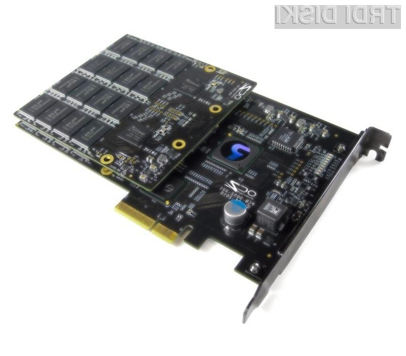 Izjemno zmogljivi pogon OCZ RevoDrive X2 je pisan na kožo strežniškim sistemom.