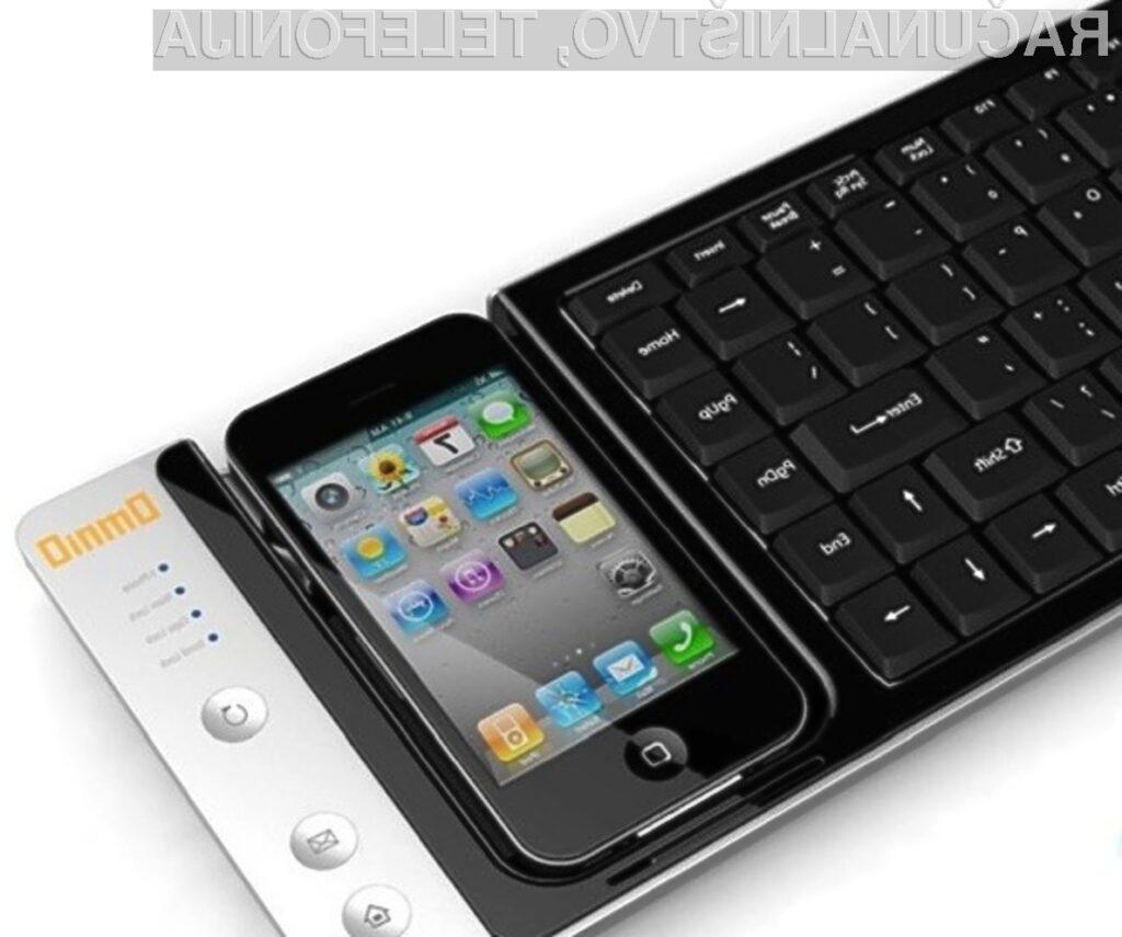 Računalniška tipkovnica WOWKeys in mobilnik iPhone se odlično ujameta, a ne?