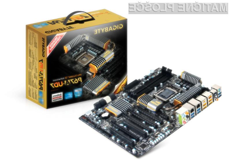Gigabyte je že pripravljen na nove Intelove procesorje Sandy Bridge.