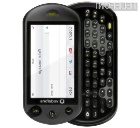 Za nakup pametnega mobilnega telefona Vodafone 553 je potrebno odšteti zgolj 90 evrov.