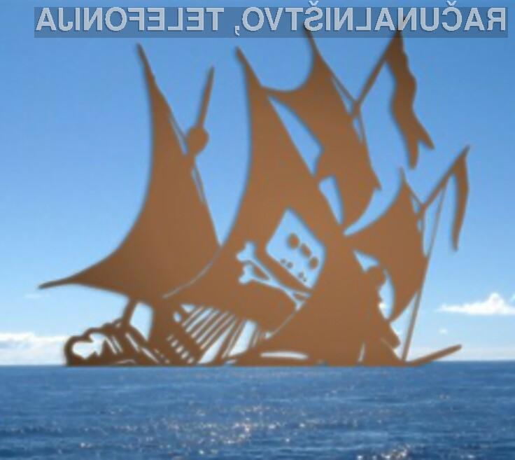 Piratska spletna stran The Pirate Bay se ne da!