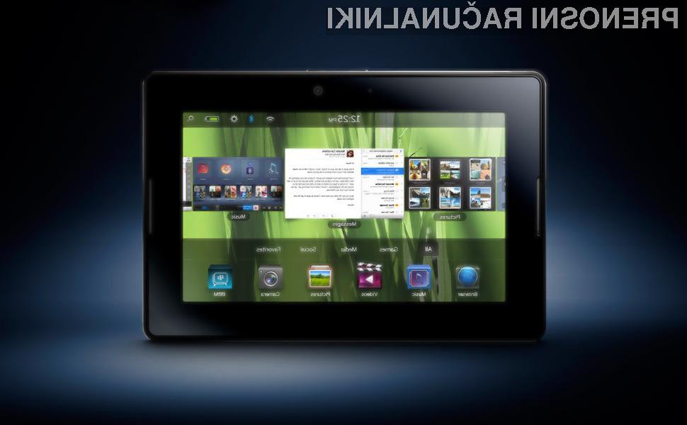 BlackBerry PlayBook obeta veliko.