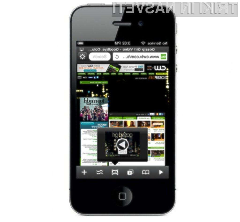 Mobilni spletni brskalnik Skyfire 2.0 omogoča predvajanje videoposnetkov Flash na iPhonu in iPadu.