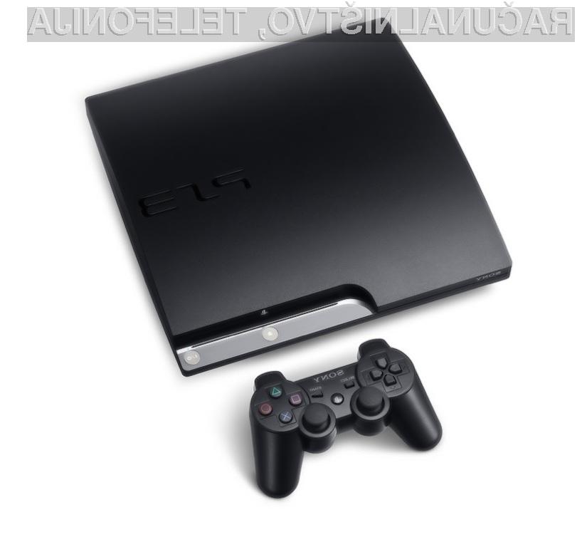 Igralna konzola Sony PlayStation 3 Slim se odlično prilega tridimenzionalnim igram.