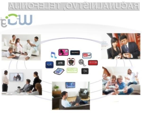 Gigabitni brezžični standard bo povsem pisan na kožo prenosu visokoločljivih video vsebin.
