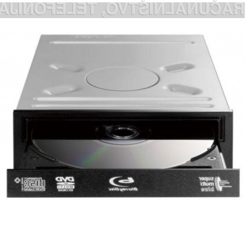 Vgradni zapisovalnik 3D Blu-Ray za osebne računalnike.