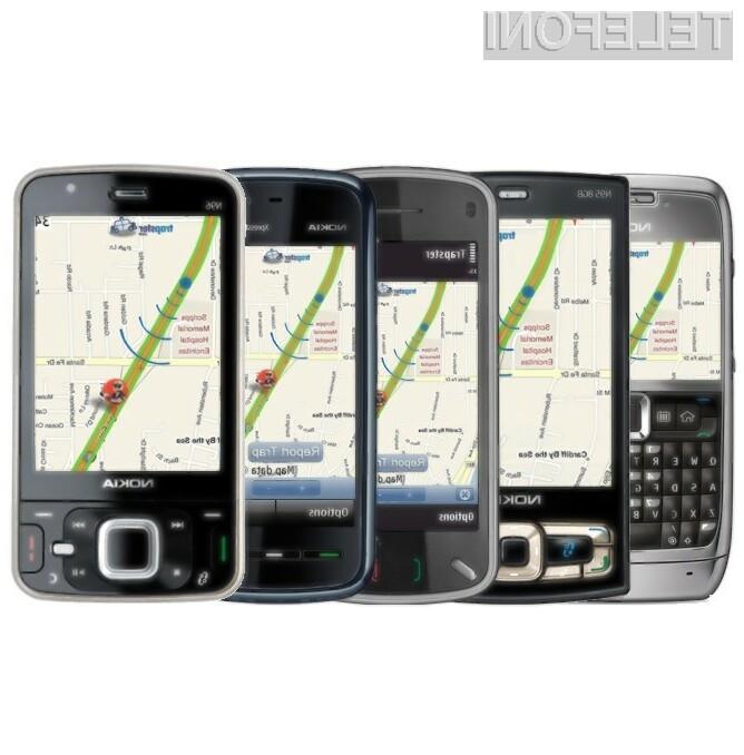 """Navigacijo Nokia Ovi Map bo kmalu bogatejša za priljubljenega """"lovca na radarje"""" Trapster."""