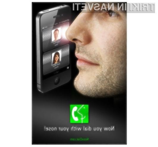 Nos je kot nalašč za upravljanje s prenosnimi napravami, opremljenimi z na dotik občutljivimi zasloni.