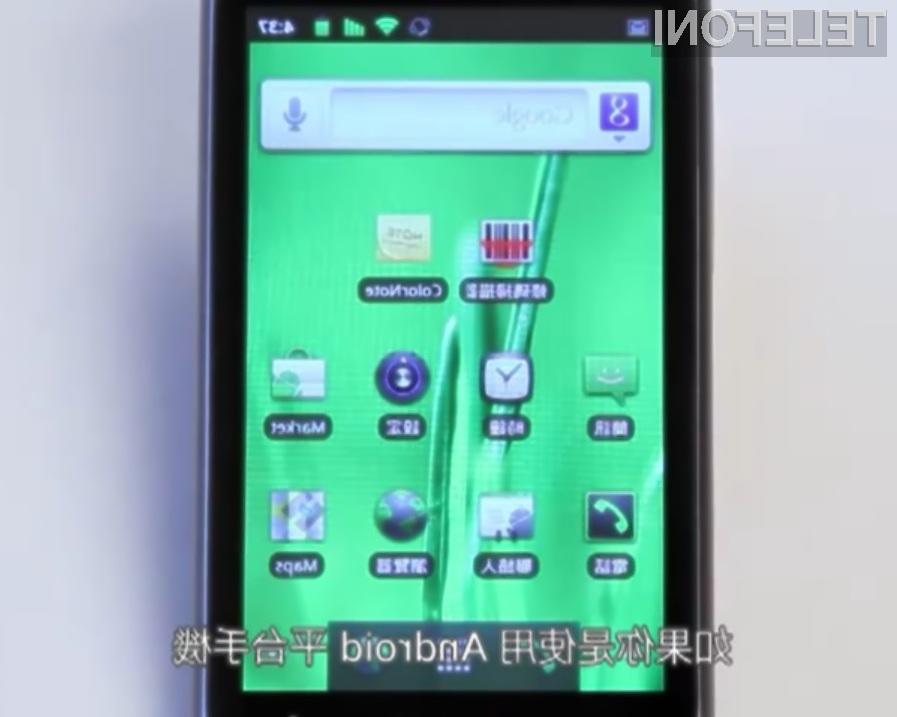 Mobilni operacijski sistem Android 2.3 Gingerbread je tako rekoč že nared!
