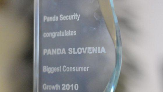 Slovenska podružnica Panda Security z največjo rastjo prodaje