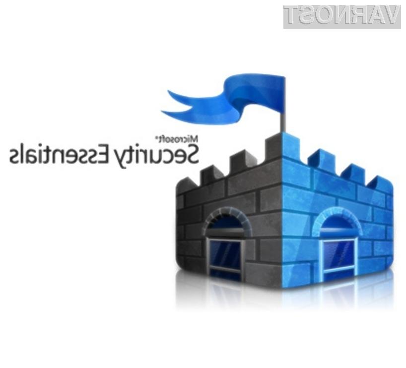 Brezplačen protivirusni program Microsoft Security Essentials 2.0 navdušuje v vseh pogledih!