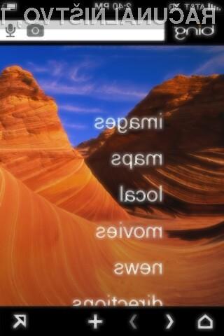 Microsoft je izdal izboljšano različico svoje aplikacije Bing za iPhone in druge naprave, ki temeljijo na operacijskem sistemu iOS.
