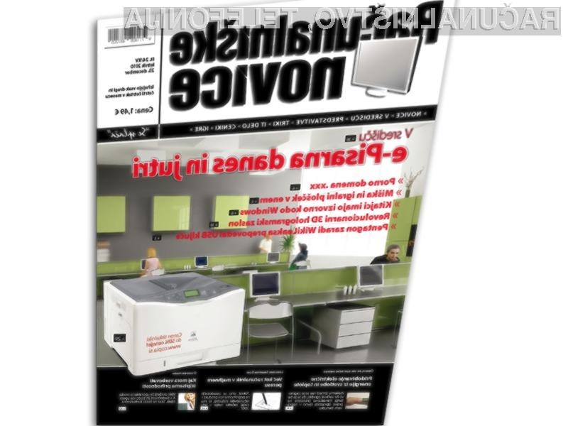 V središču nove številke revije Računalniške novice, so tokrat sodobne e-Pisarne.