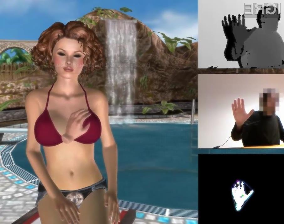 Prva erotična igra za Microsoftov krmilni sistem Kinect se bo zagotovo tržila kot za stavo!
