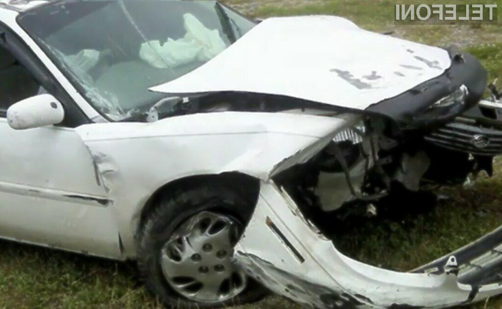 Pisanje kratkih sporočil SMS med vožnjo vas lahko stane celo življenja!