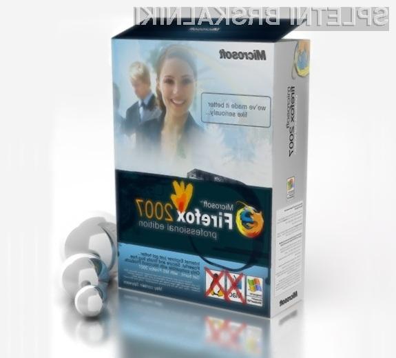 Microsoft je za Firefox pripravil vstavek za predvajanje videoposnetkov HTML5 z zaprtim videokodekom H.264.