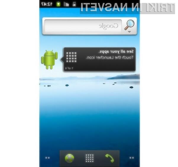 Mobilni operacijski sistem Android 2.3 Gingerbread se odlično prilega pametnim mobilnim telefonom.
