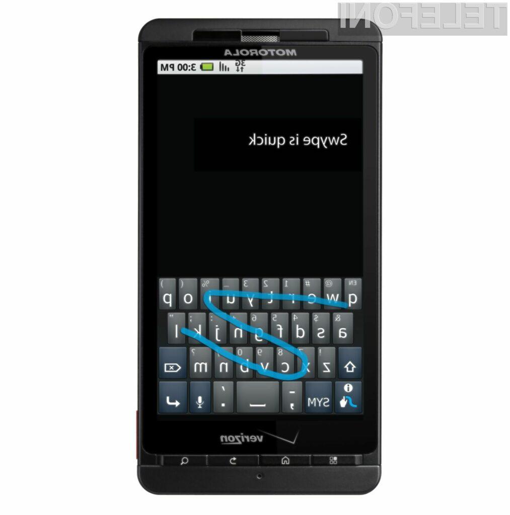 Navidezna tipkovnica Swype precej olajša pisanje besed na aparatih z zaslonom na dotik!