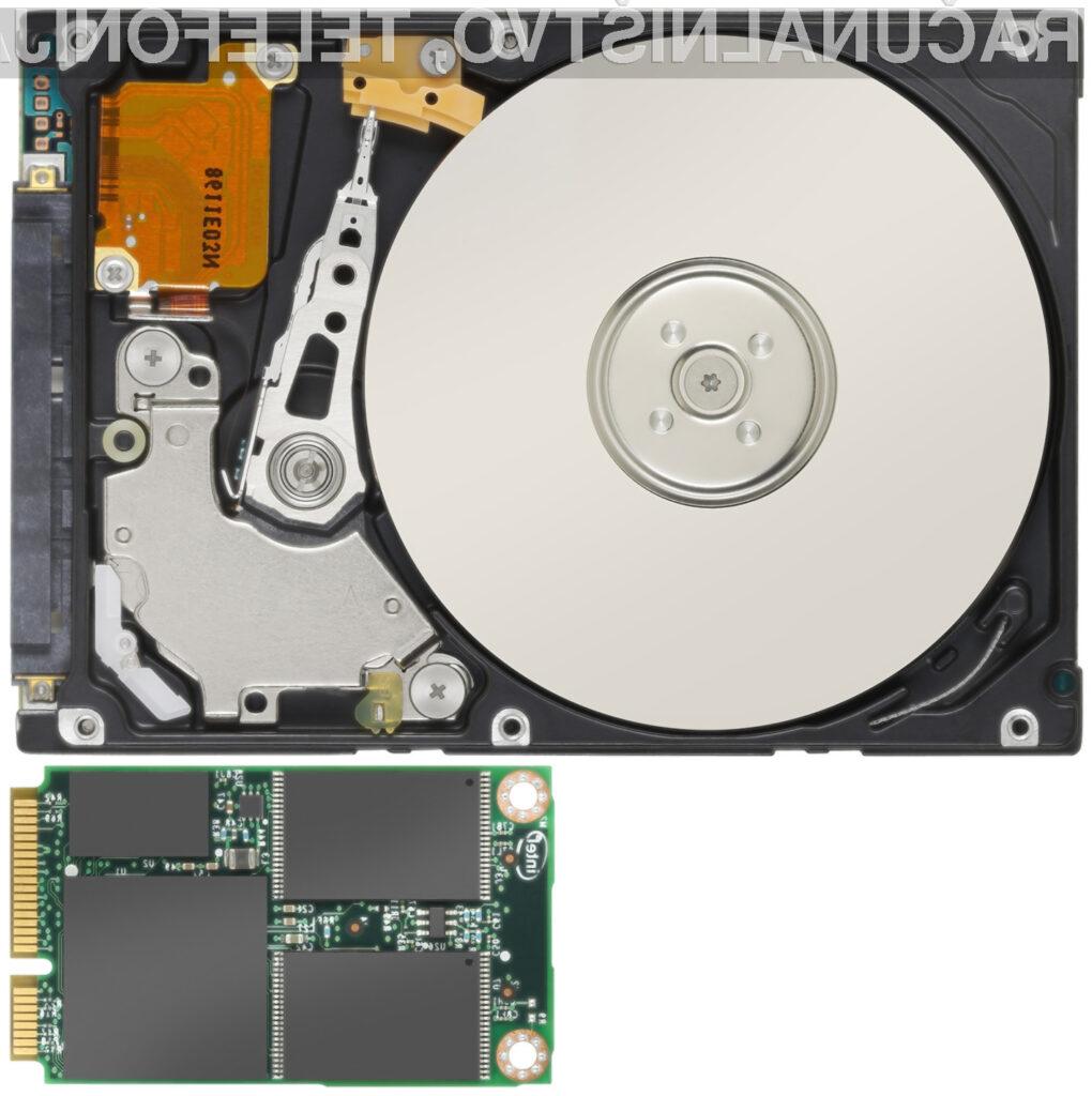 Intel Solid-State Drive 310 je  kar osemkrat manjše velikosti od pogonov SSD razreda X25.