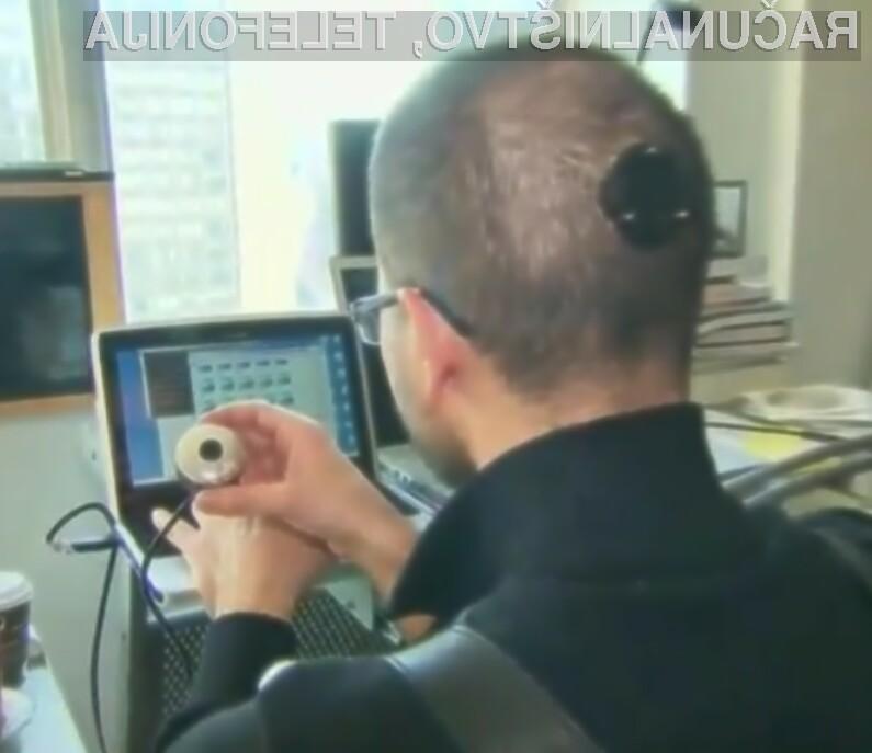 Bi si dali v glavo vgraditi nosilec za spletno kamero?