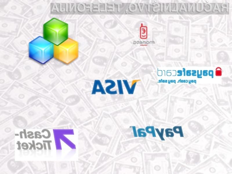 Če želite tudi vi na svoji strani ponuditi plačevanje s kreditnimi karticami, Moneto, Paysafecard, Cash Ticket ali PayPal plačilnim sistemom se obrnite na podjetje Spletni Sistemi d.o.o.