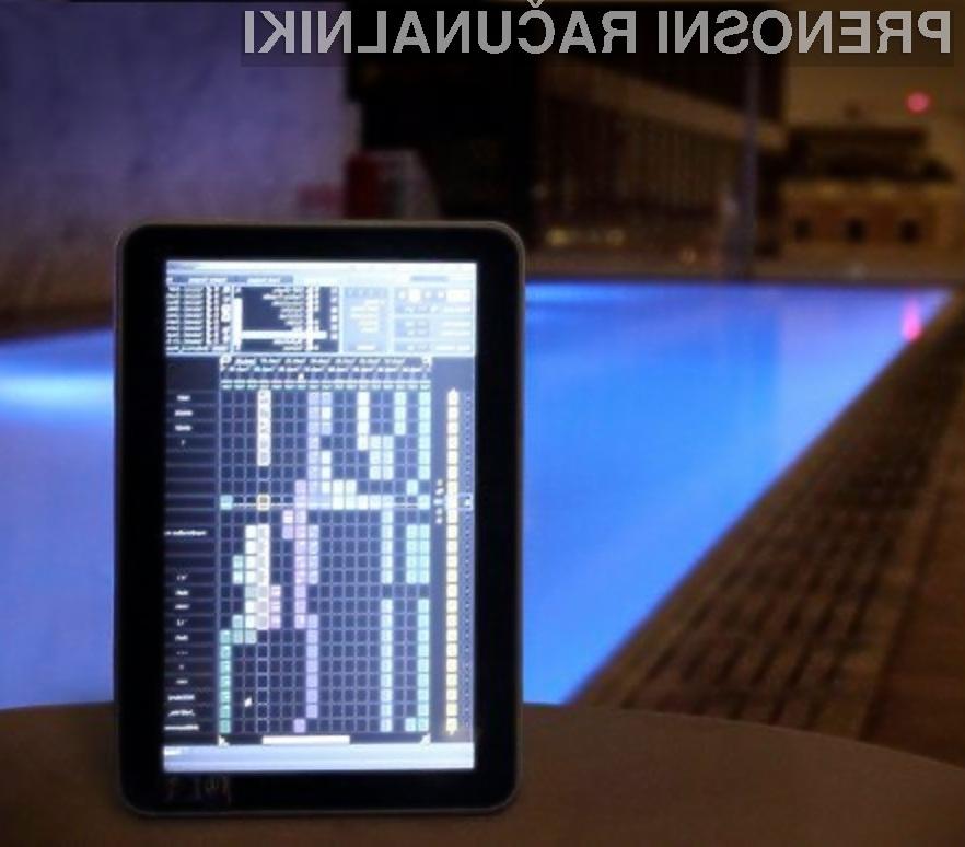 Tablični računalnik Indamixx 2 Beta je pisan na kožo predvsem ljubiteljem glasbe.
