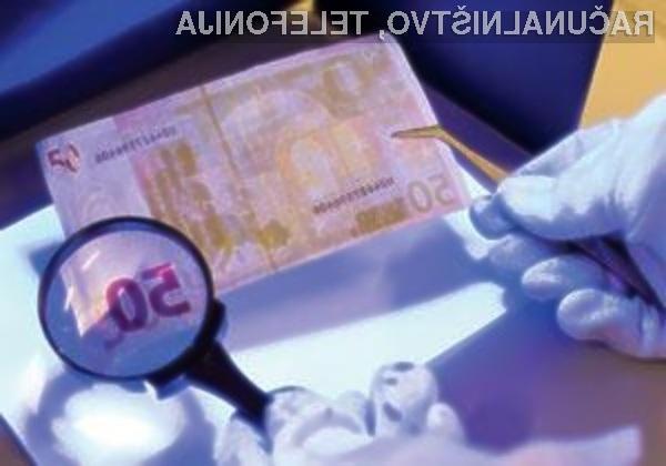 Ponarejevalcem denarja se obetajo hudi časi!