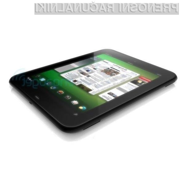 Se bodo tablični računalniki HP lahko zoperstavili tablicam z operacijskim sistemom Android?