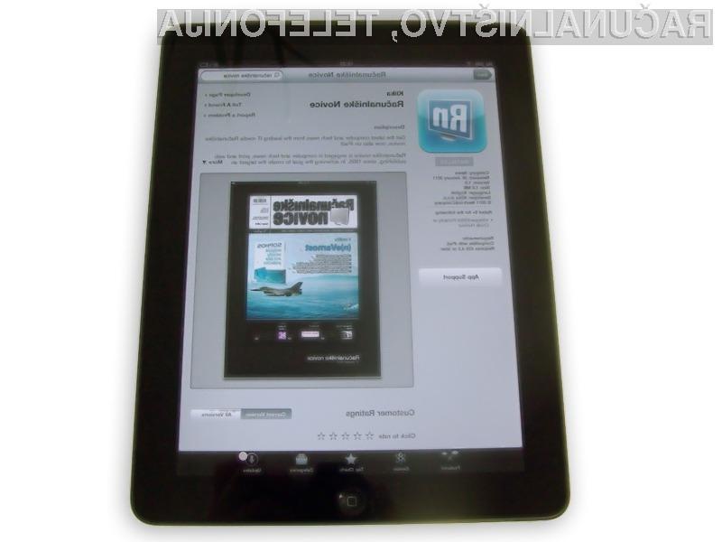 Aplikacija Računalniške novice je odslej na voljo tudi za iPad tablice - najdete jo v Apple Store-u.