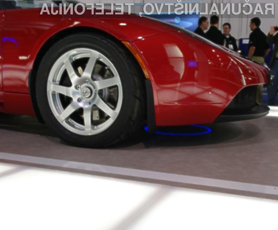 Brezžično polnjenje električnih avtomobilov naj bi kmalu postalo del našega vsakdanjika.