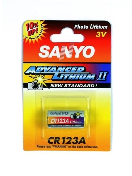 Odprodaja Foto Litijevih baterij CR-123 SANYO