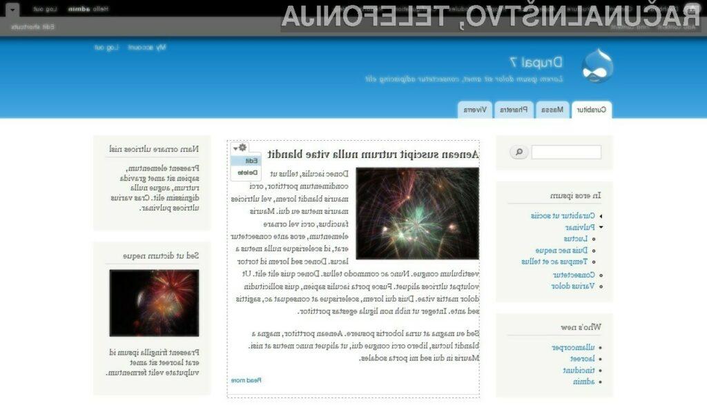 Izšla nova različica Drupal 7