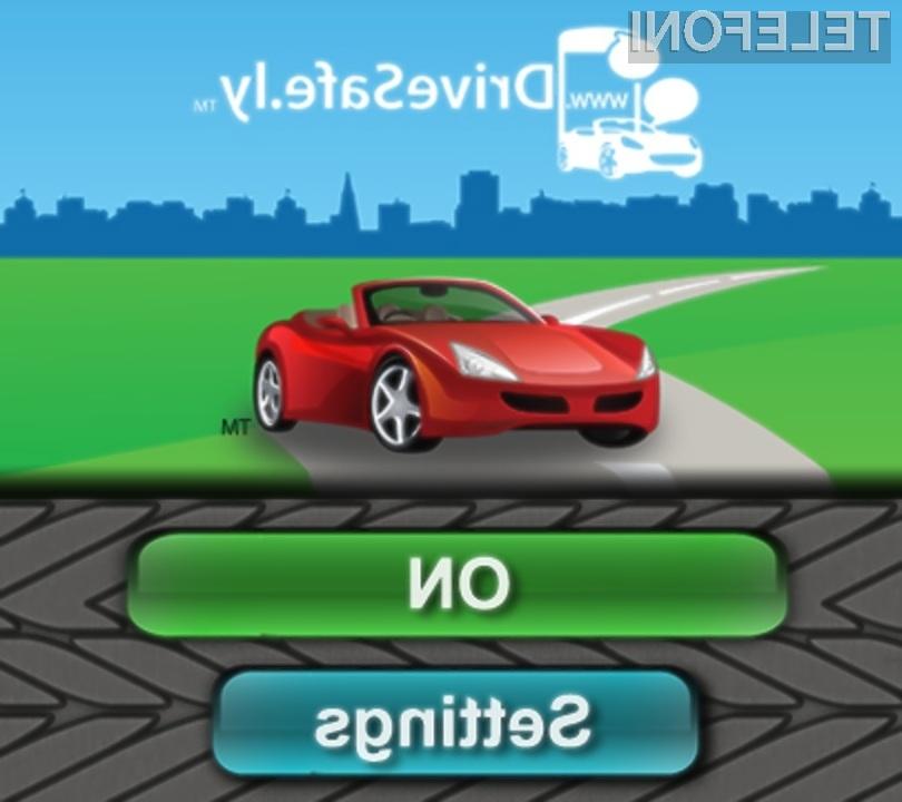 S programsko opremo DriveSafe.ly bo vožnja z avtomobilom občutno varnejša.