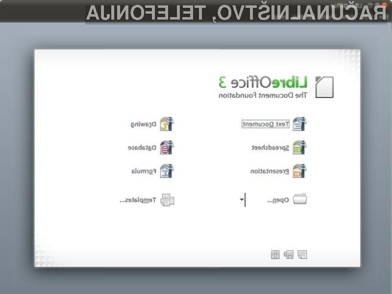 Pisarniški paket OpenOffice je dobil dostojnega konkurenta!