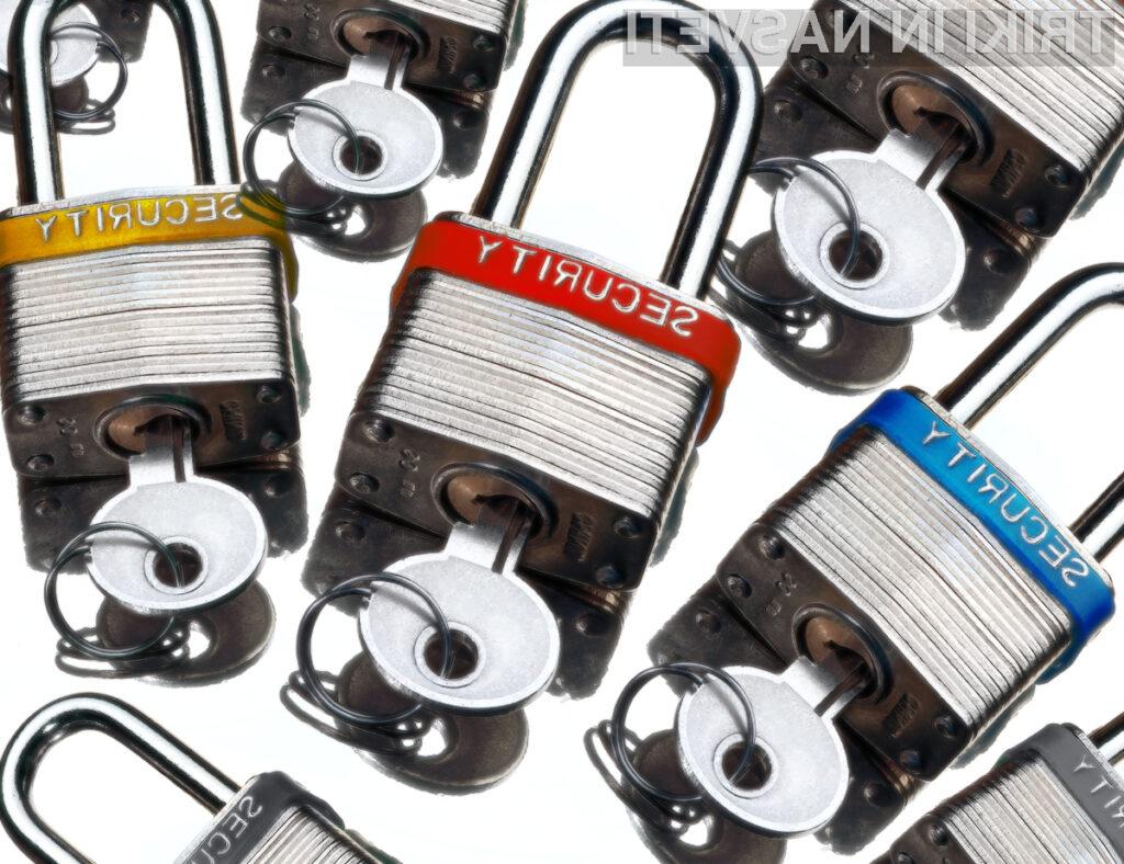 Gesla so prva obrambna linija pri zaščiti vaše identitete.