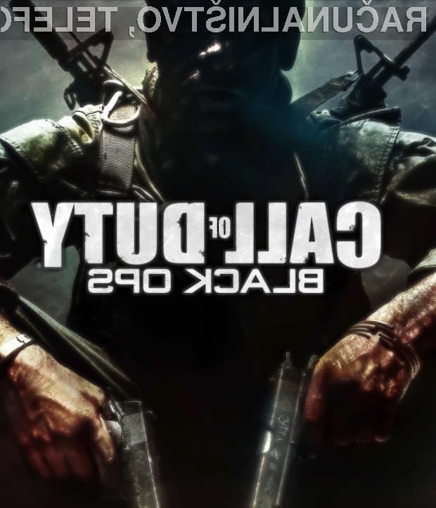 """""""Call of Duty: Black Ops"""" - zdaleč najbolj piratizirana računalniška igra"""