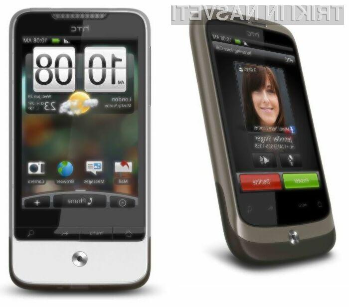 S posodobitvijo mobilnikov HTC Wildfire in Legend pridobimo kopico novih funkcionalnosti!
