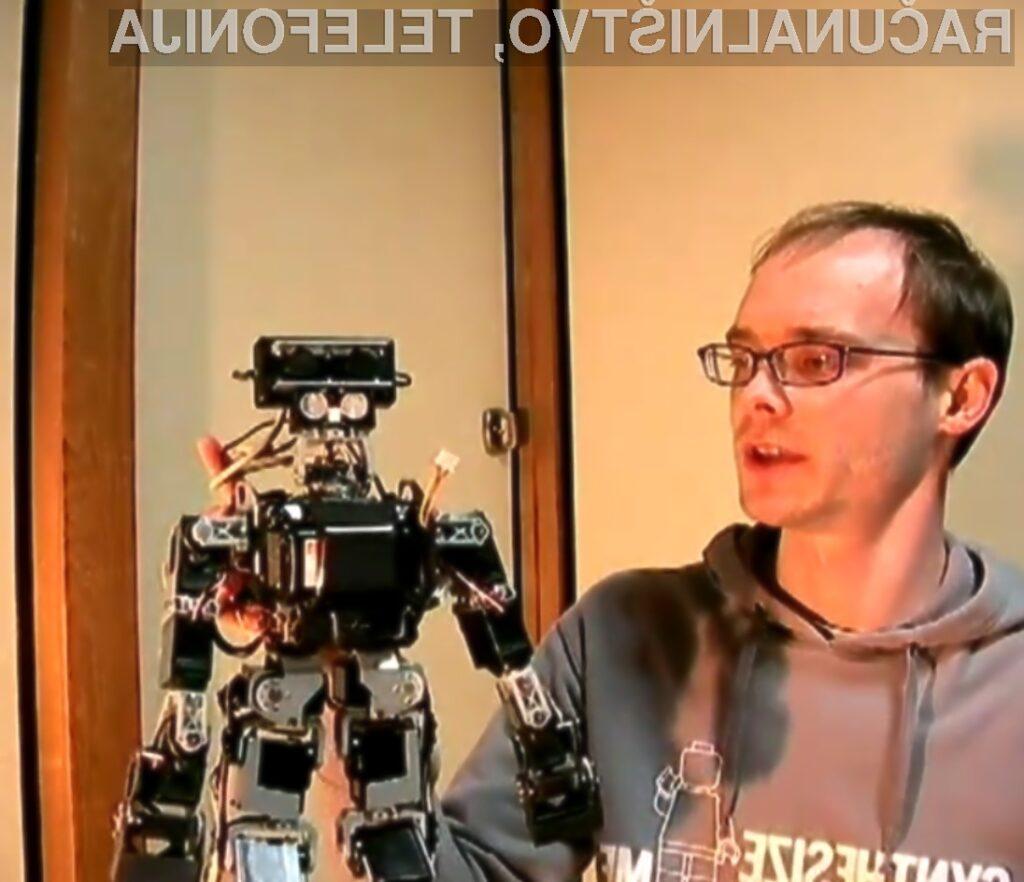 Krmilni sistem Kinect je povsem pisan na kožo robotiki.