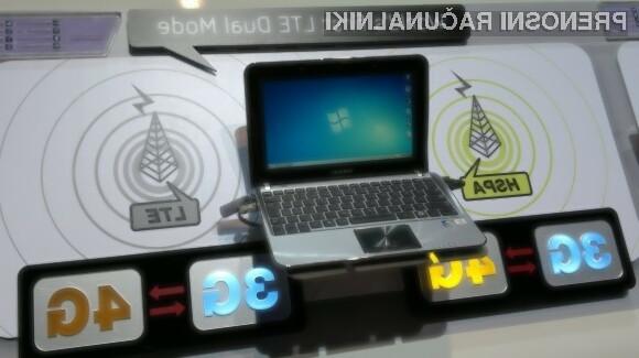 Prvi netbook s podporo za 3G HSPA in 4G LTE