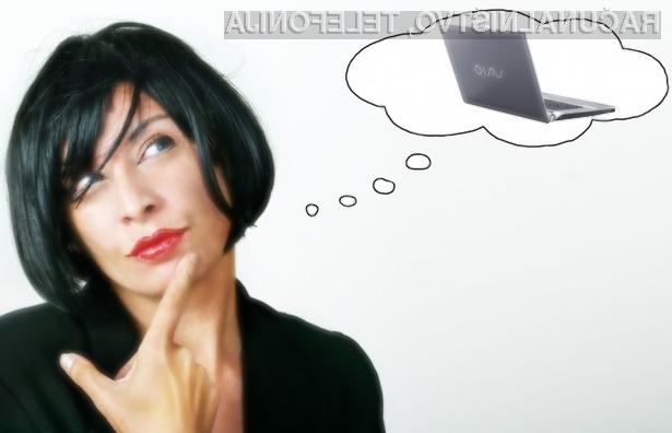 Kaj je boljšega od brezplačnega, sicer 1.400 € vrednega prenosnika Sony Vaio?
