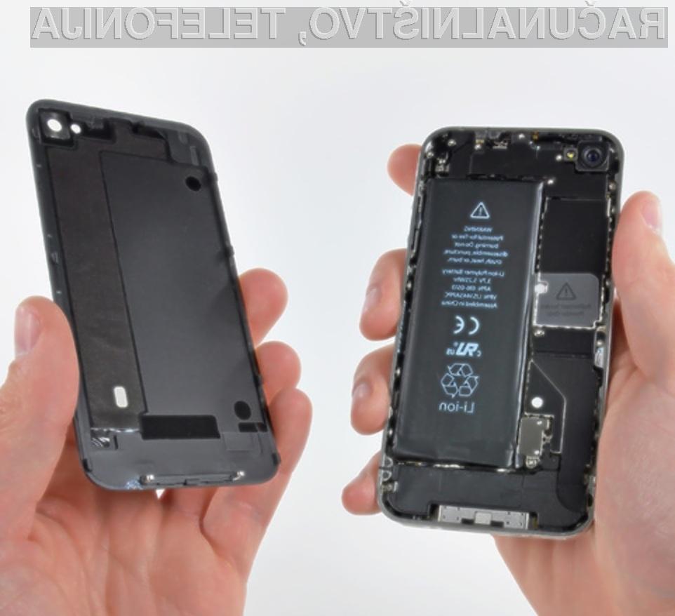 Odpiranje mobilnih telefonov iPhone bo odslej precej težje!