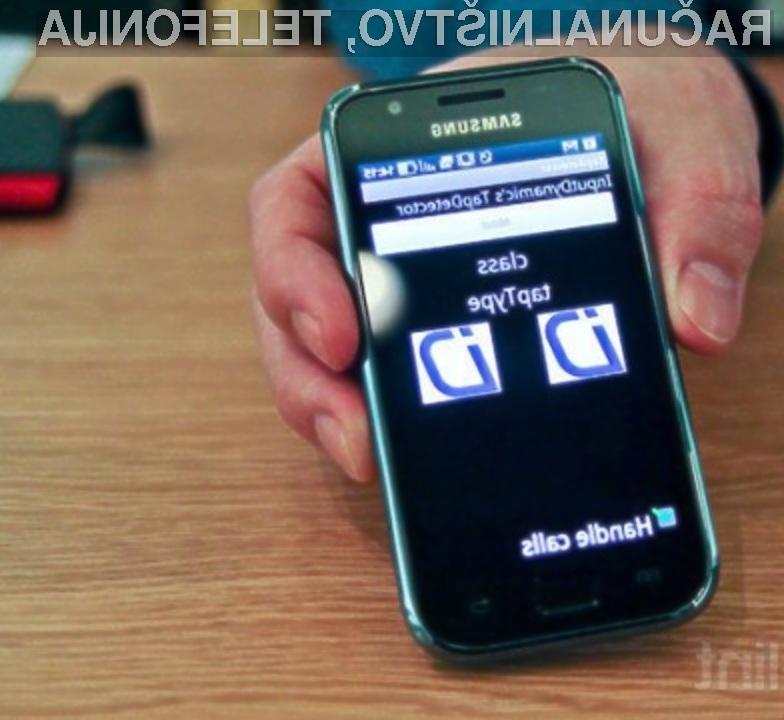 Programska oprema TouchTap bo precej poenostavila delo z običajnimi mobilnimi telefoni.